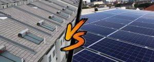 solar heater versus solar power