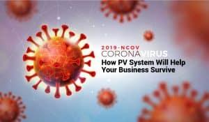 covid 19 solar pv system