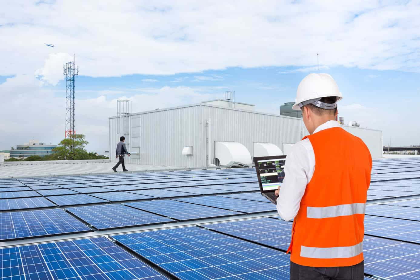 solar pv system for factory for factory rooftop system